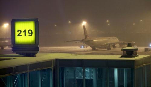"""THY'den yolculara """"kar"""" uyarısı"""