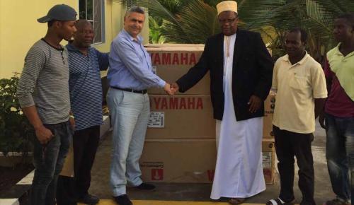 TİKA'dan Zanzibarlı balıkçılara destek