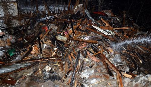 Tokat'ta ahşap evde yangın: 1 ölü