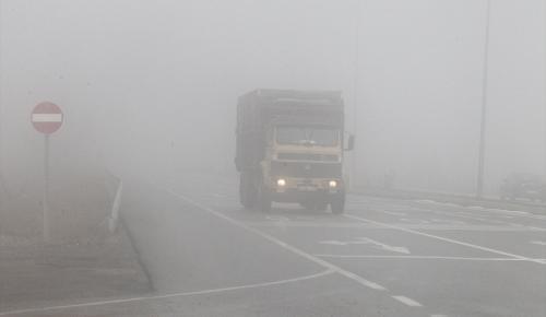 Trakya'da yoğun sis