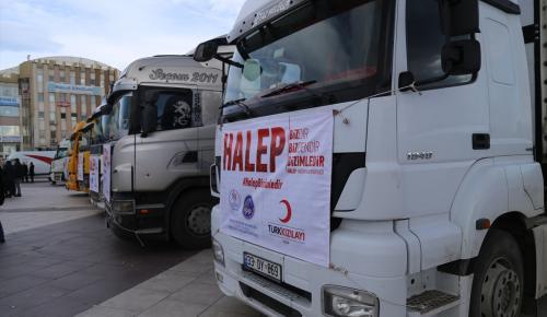Üniversite öğrencilerinden Haleplilere yardım