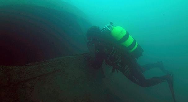 Van Gölü'nde batık Rus yük gemisi bulundu