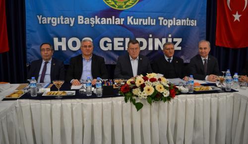 Yargıtay Başkanlar Kurulu Toplantısı