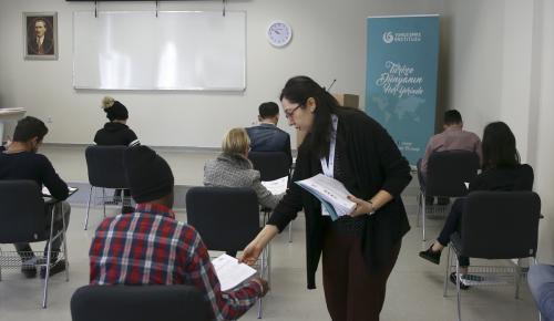 YEE Türkçe Yeterlik Sınavı'na yoğun ilgi