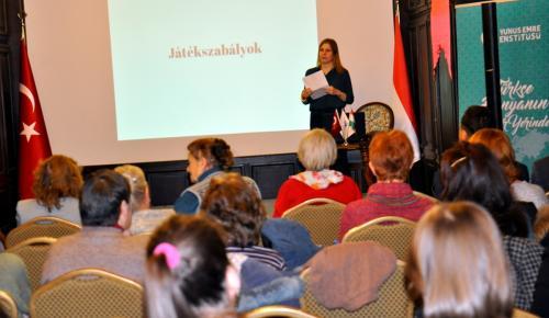 "Yunus Emre Enstitüsü ""mangala"" oyununu Macarlara tanıttı"